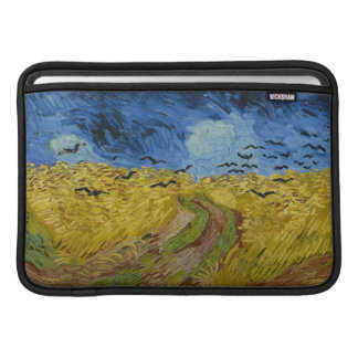 Vincent van Gogh - Wheatfield with crows Sleeve For MacBook Air