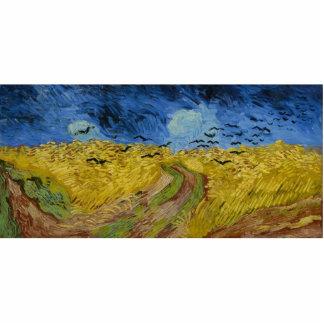 Vincent van Gogh - Wheatfield with crows Statuette