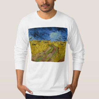 Vincent van Gogh - Wheatfield with crows T-Shirt
