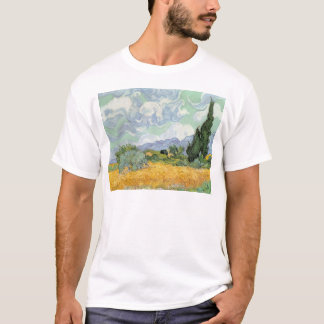 Vincent van Gogh | Wheatfield with Cypresses, 1889 T-Shirt