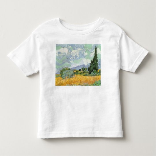 Vincent van Gogh | Wheatfield with Cypresses, 1889 Toddler T-shirt