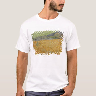 Vincent van Gogh | Wheatfield with Reaper, 1889 T-Shirt
