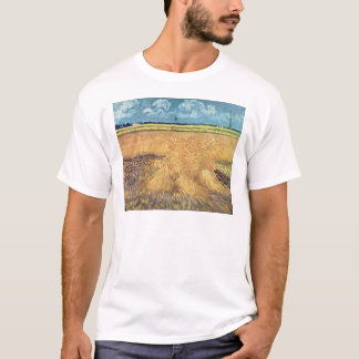 Vincent van Gogh | Wheatfield with Sheaves, 1888 T-Shirt