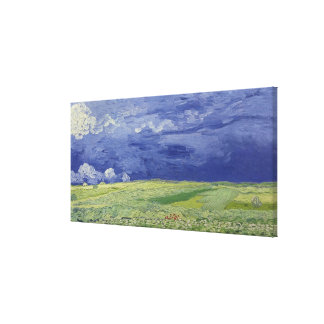 Vincent van Gogh   Wheatfields under Thundercloud Canvas Print