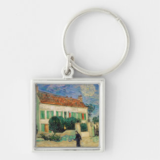 Vincent van Gogh | White House at Night, 1890 Keychain