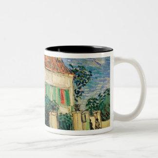 Vincent van Gogh | White House at Night, 1890 Two-Tone Coffee Mug