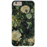 Vincent Van Gogh White Roses Floral Vintage Barely There iPhone 6 Plus Case