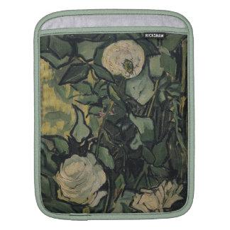 Vincent Van Gogh White Roses Vintage Rose  Art iPad Sleeves