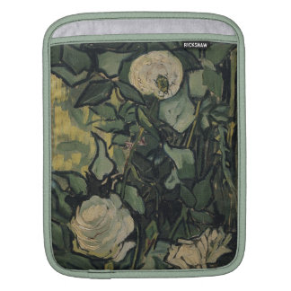 Vincent Van Gogh White Roses Vintage Rose  Art Sleeve For iPads