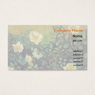 Vincent van Gogh Wild Roses, 1890 Business Card