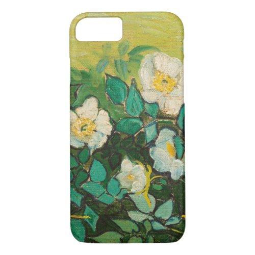 Vincent Van Gogh Wild Roses Fine Art Phone Case