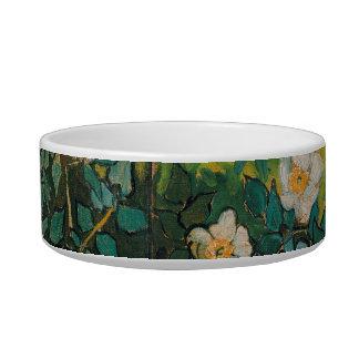 Vincent Van Gogh Wild Roses Vintage Floral Art Bowl