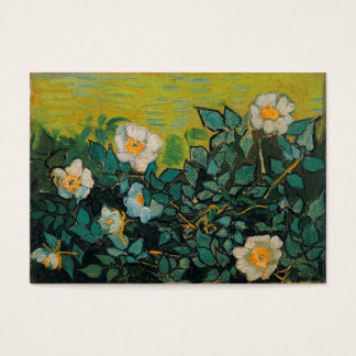 Vincent Van Gogh Wild Roses Vintage Floral Art Business Card