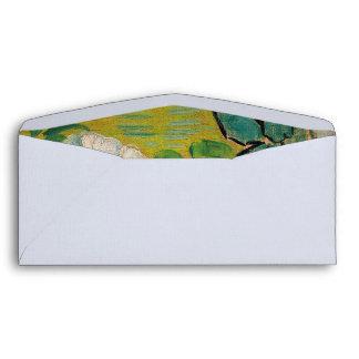 Vincent Van Gogh Wild Roses Vintage Floral Art Envelope