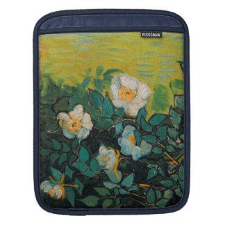 Vincent Van Gogh Wild Roses Vintage Floral Art iPad Sleeve