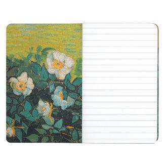 Vincent Van Gogh Wild Roses Vintage Floral Art Journal