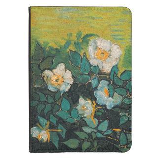 Vincent Van Gogh Wild Roses Vintage Floral Art Kindle Touch Case