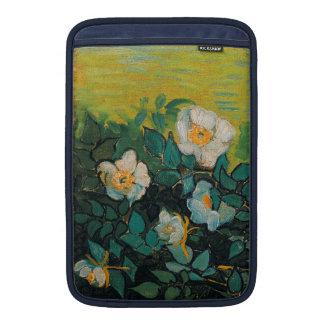 Vincent Van Gogh Wild Roses Vintage Floral Art MacBook Air Sleeve