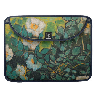 Vincent Van Gogh Wild Roses Vintage Floral Art MacBook Pro Sleeve