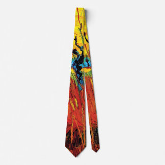 Vincent Van Gogh - Willows At Sunset Fine Art Tie