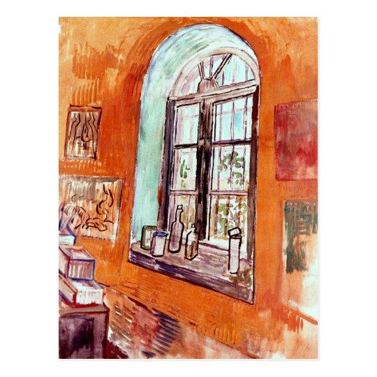 Vincent Van Gogh - Window Of Vincent's Studio Postcard