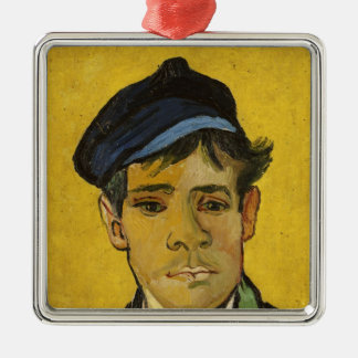 Vincent van Gogh | Young Man with a Hat, 1888 Metal Ornament
