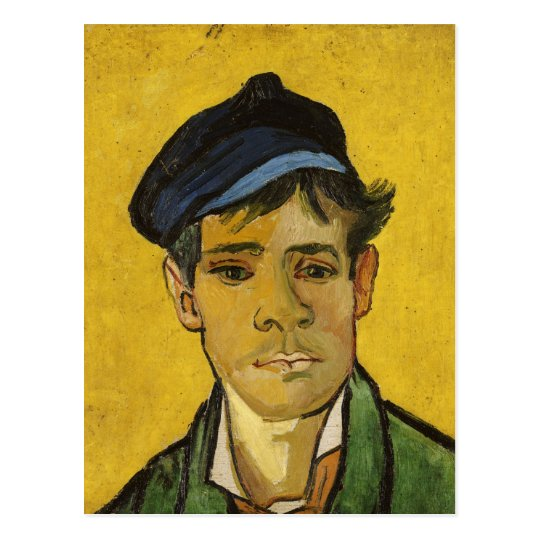 Vincent van Gogh | Young Man with a Hat, 1888 Postcard