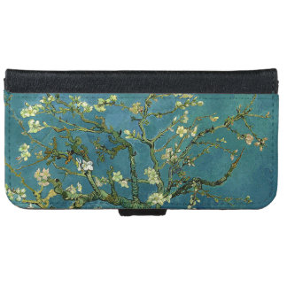 Vincent van Gogh's Almond Blossom Wallet Phone Case For iPhone 6/6s