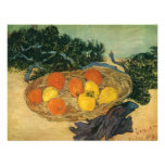 Vincent van Gogh's Basket of Fruit and Gloves 1889 Personalized Announcements