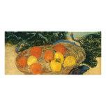Vincent van Gogh's Basket of Fruit and Gloves 1889 Rack Card