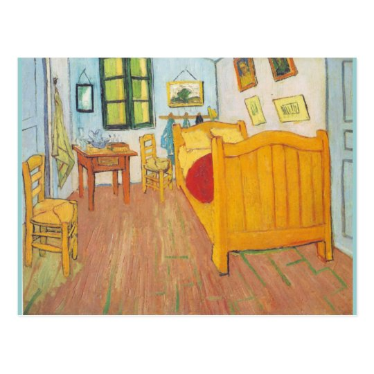 Vincent Van Gogh's Bedroom in Arles Postcard