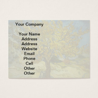 Vincent Van Gogh's Mulberry Tree Business Card
