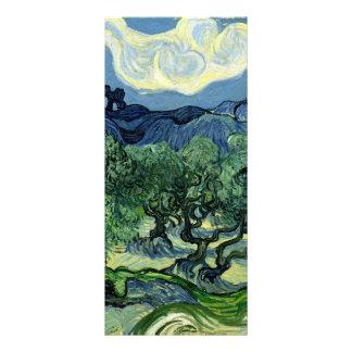 Vincent van Gogh's Olive Trees (1889) Full Color Rack Card