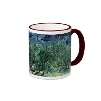 Vincent van Gogh's Olive Trees (1889) Ringer Mug
