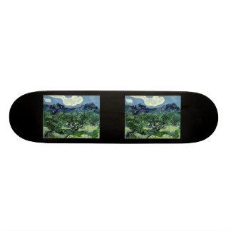 Vincent van Gogh's Olive Trees (1889) Skate Decks