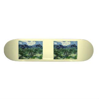 Vincent van Gogh's Olive Trees (1889) Skateboard Deck