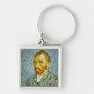 Vincent Van Gogh's 'Self Portrait' Keychain