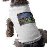 Vincent van Gogh's Starry Night Over the Rhone Dog Tee Shirt