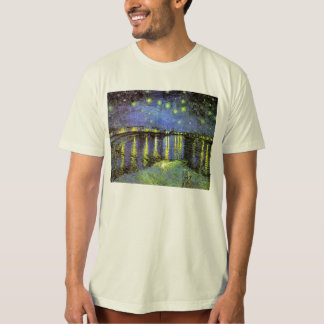 Vincent van Gogh's Starry Night Over the Rhone T Shirt