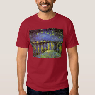 Vincent van Gogh's Starry Night Over the Rhone T-shirt