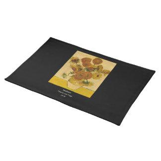 Vincent van Gogh's Sunflowers, 1878 Placemat