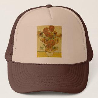 Vincent Van Gogh's 'Sunflowers' Trucker Hat