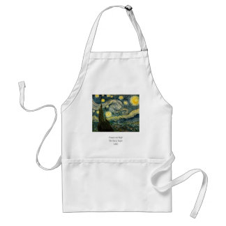 Vincent van Gogh's The Starry Night (1889) Adult Apron