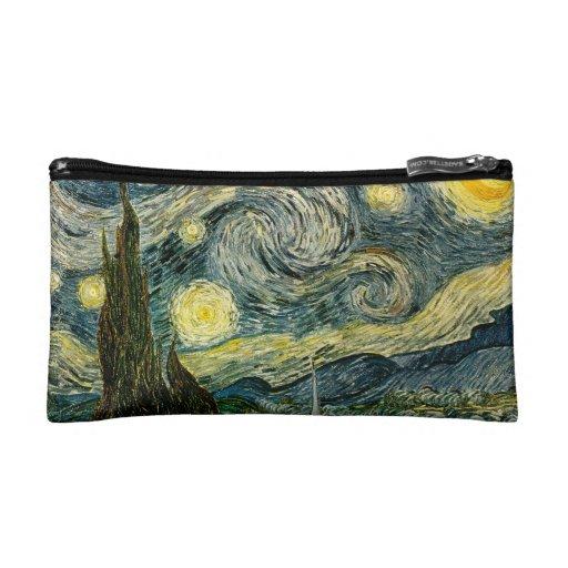 Vincent van Gogh's The Starry Night (1889) Makeup Bag