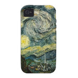 Vincent van Gogh's The Starry Night (1889) Vibe iPhone 4 Cover