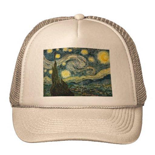 Vincent van Gogh's The Starry Night (1889) Hat