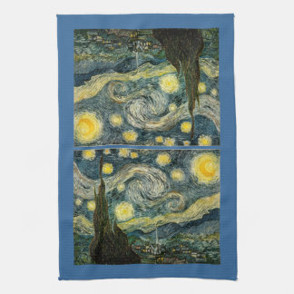 Vincent van Gogh's The Starry Night (1889) Kitchen Towels