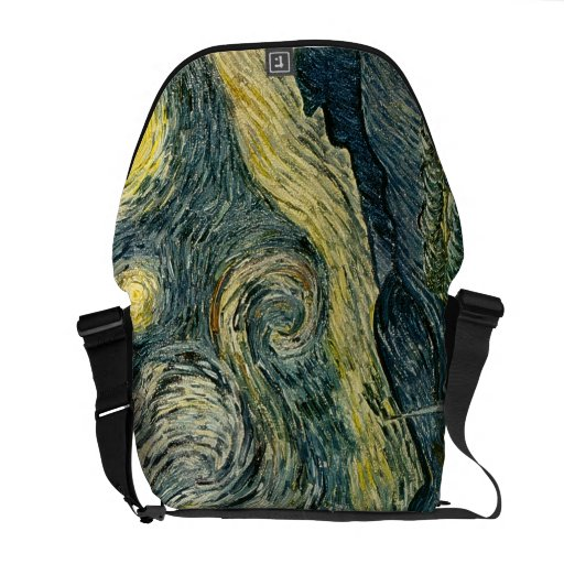 Vincent van Gogh's The Starry Night (1889) Courier Bag
