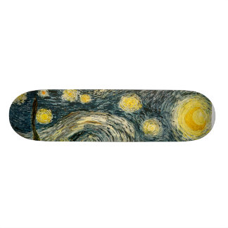Vincent van Gogh's The Starry Night (1889) Skateboard Deck