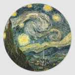 Vincent van Gogh's The Starry Night (1889) Stickers